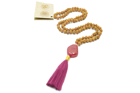 Royal stone robijn mala ketting Mala Spirit