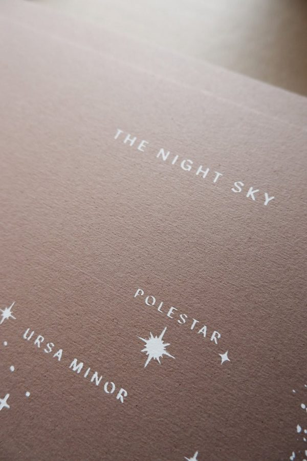 Anna Cosma A3 print The Night Sky poster sterrenbeelden