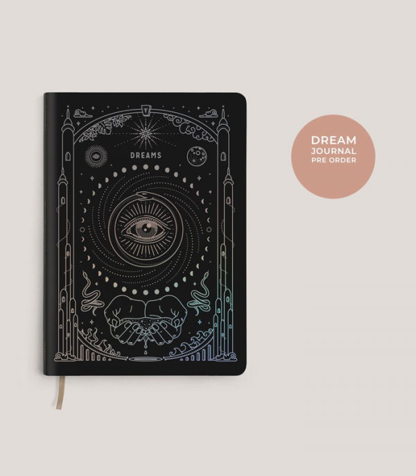 magic of i ether dream journal zwart